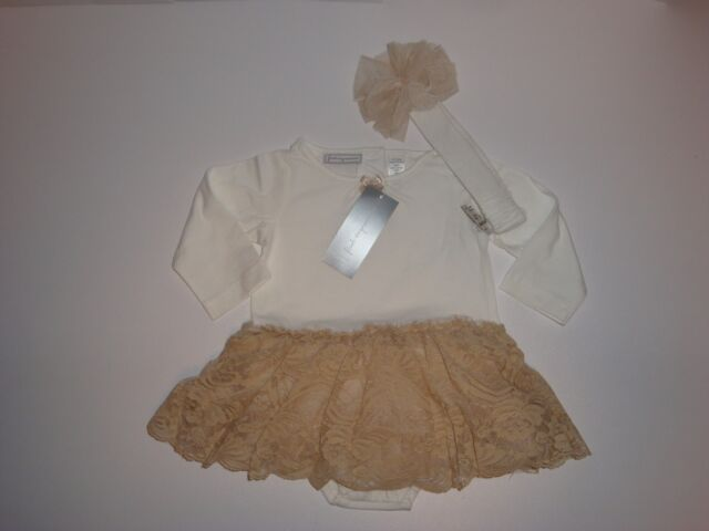 First Impressions Tutu Dress /& Matching Leggings ~ Size 0-3 Months~ NWT