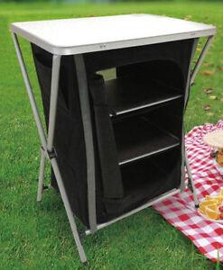 campingschrank easytravel 2 gr en campingk che camping schrank k che ebay. Black Bedroom Furniture Sets. Home Design Ideas