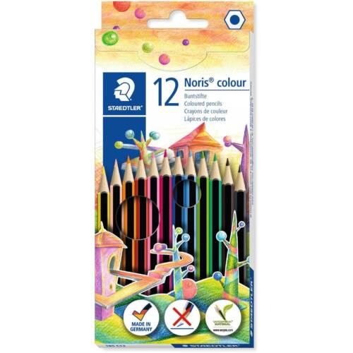 24 /& 36 Disponible Staedtler Noris Lápices de Color 185 * envases de 6 * Reino Unido 12