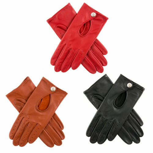 Womens Dents Thruxton Lightweight Leather Driving Gloves