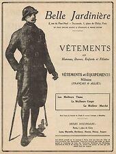 J0728 Belle Jardinière - Vetements Militaires - Pubblicità d'epoca - 1917 Old ad