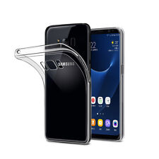 FOR SAMSUNG GALAXY S8 - ULTRA SLIM THIN 0.3MM TRANSPARENT CLEAR GEL COVER CASE