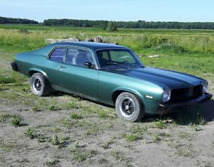 Tresor de grange: Pontiac Ventura 1973  V8 Automatique 455pc