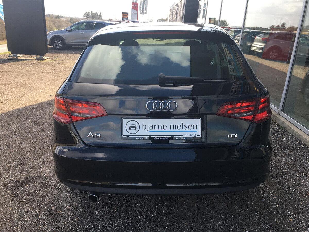 Audi A3 1,6 TDi Ambition Sportback - billede 4