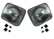 LAND ROVER DISCOVERY 1 200TDI NEW OEM FRONT HEADLIGHTS LAMPS PAIR (1989-1994)