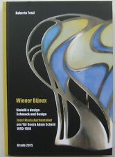 Festi Jugendstil Schmuck Design Auchentaller Wiener Secession Katalog catalogue