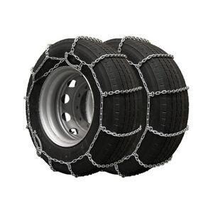 paire chaines a neige pour camions chaine carre plus de 100 pneus tailles ebay. Black Bedroom Furniture Sets. Home Design Ideas