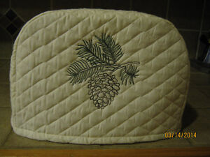 New PINECONE 2 or 4 Slice Toaster Covers, Cream Color ...