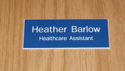 Volunteer Shop Assistant Carer etc. 10 x QUALITY ENGRAVED NAME BADGES