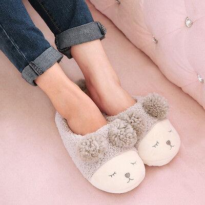Cute Couple Home Furnishing Sheep Slipper Comfortably Warm Indoor Floor Slippers
