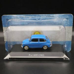 1-43-IXO-ALTAYA-FIAT-600D-1962-Azul-modelos-diecast-coleccion-de-edicion-limitada