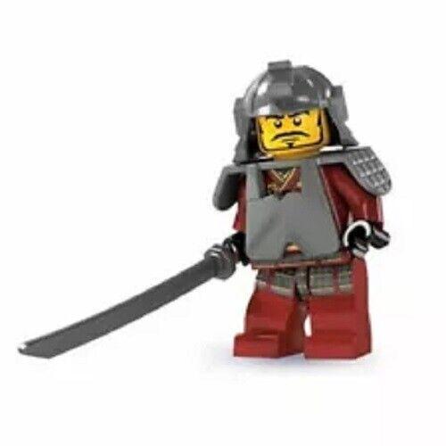 NEW LEGO MINIFIGURES SERIES 3 8803 Samurai Warrior
