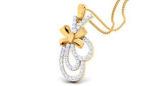 0-50-Cts-Round-Brilliant-Cut-Natural-Diamonds-Pendant-In-Solid-Hallmark-14K-Gold