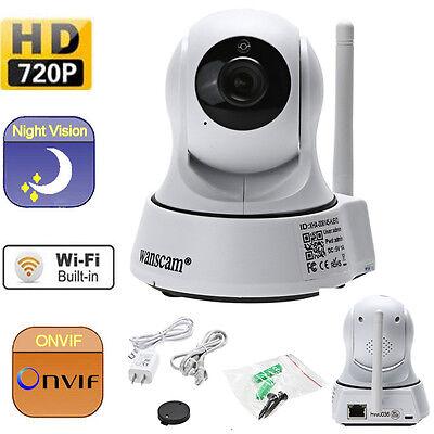 HD720P ONVIF Wireless WiFi Outdoor IR Cut Security IP Camera Night Vision Camera