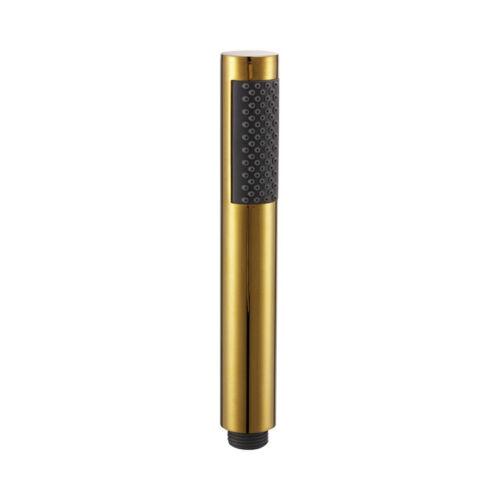 Round Handheld Shower Head Bathroom Replacement Showerhead Sprayer Titanium Gold