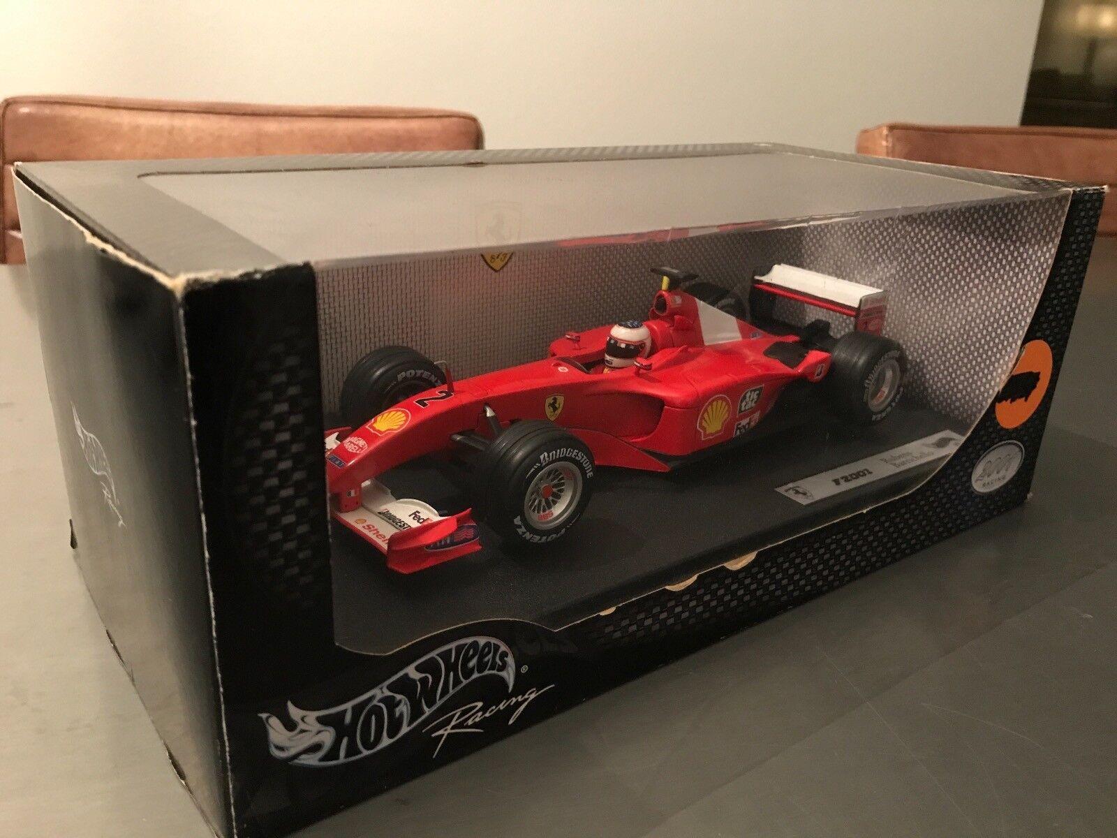 Hotwheels Ferrari F2001 1 18 Rubens Barrichello
