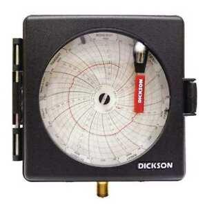 Dickson Pw474 Chart Recorder,0 To 200 Psi