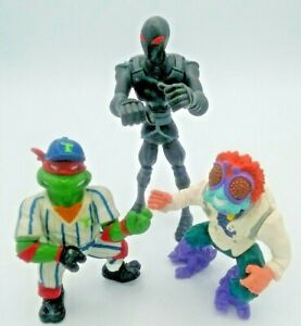 TMNT Grand Slammin Raph Baxter Stockman Solider Vintage Teenage Mutant Ninja
