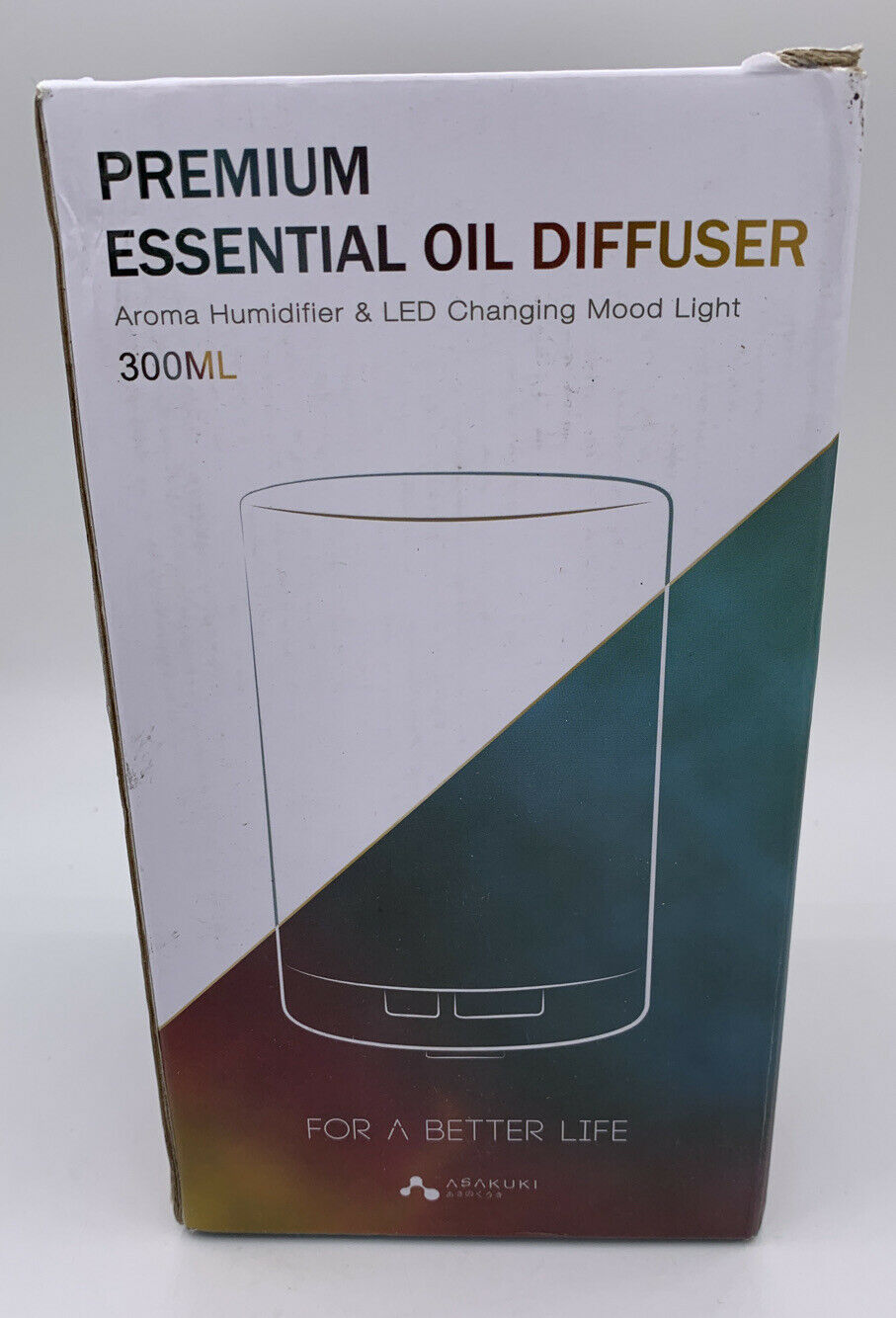 ASAKUKI Home Fragrance 300ML Premium, Essential Oil Diffuser, Quiet 5 In 1 With