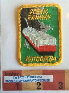 AUSTRALIA-PATCH-KATOOMBA-SCENIC-RAILWAY-RAILROAD-TRAIN-Australian-58RR