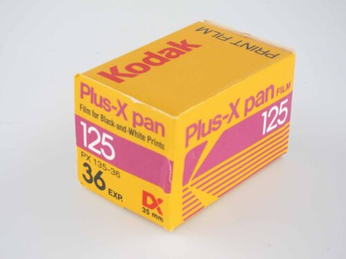 12//86 ISO 125 Kodak Plus-X pan 35mm lomography lomo Black /& White película 36 Exp