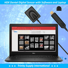High Resolution Digital X Ray Dental Intraoral Sensor Size 2 Laptop15 Sofware