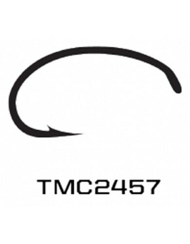 TIEMCO 100 PACK TMC2457 SIZE 10 NYMPH FLY FLY-TYING HOOKS