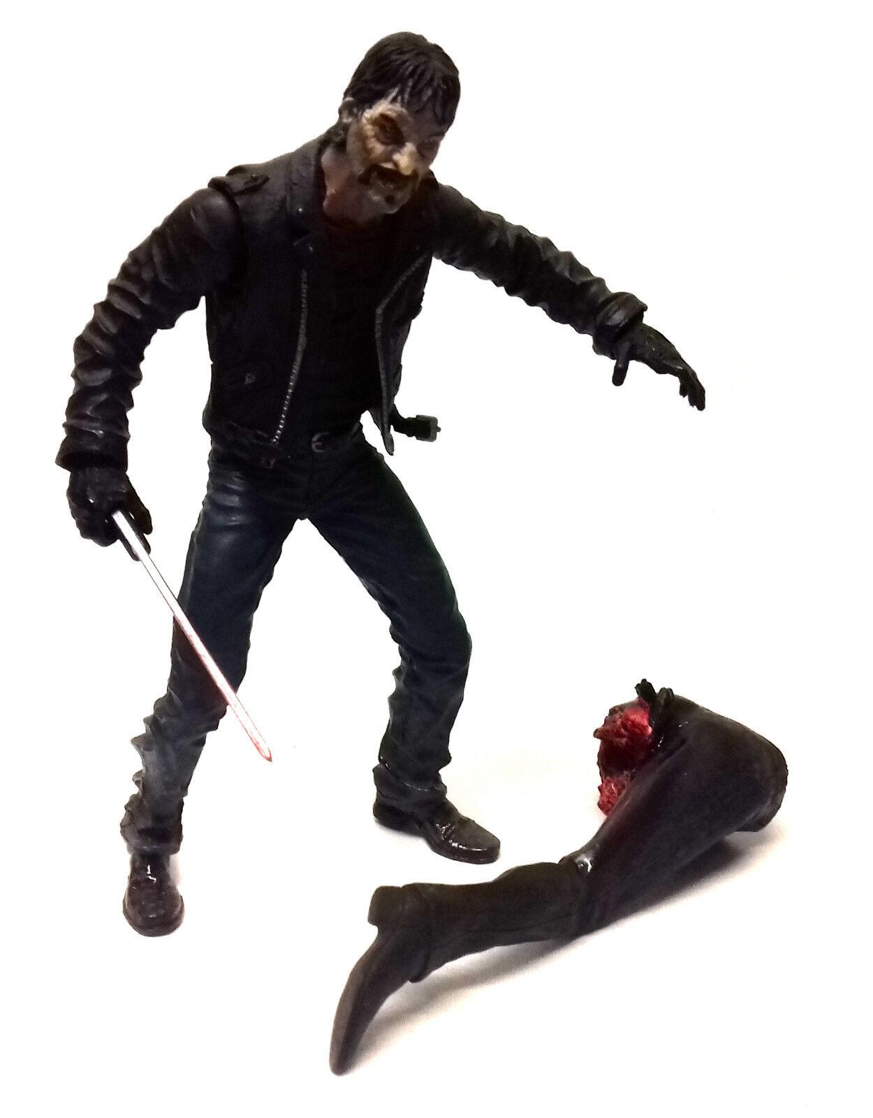 Romero land der toten  zombie - horror - figur klinge 6 spielzeug mit zubehör