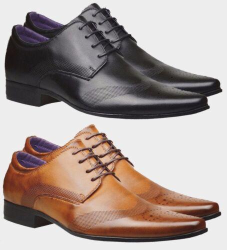 Nouveau Homme en Cuir Italien Décontracté Formelles Chaussures Bureau Mariage Chaussures Pointure