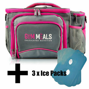 f575fde964 Fearless Meal Prep Management Bag Six Pack Food Iso Fitness Gym ...