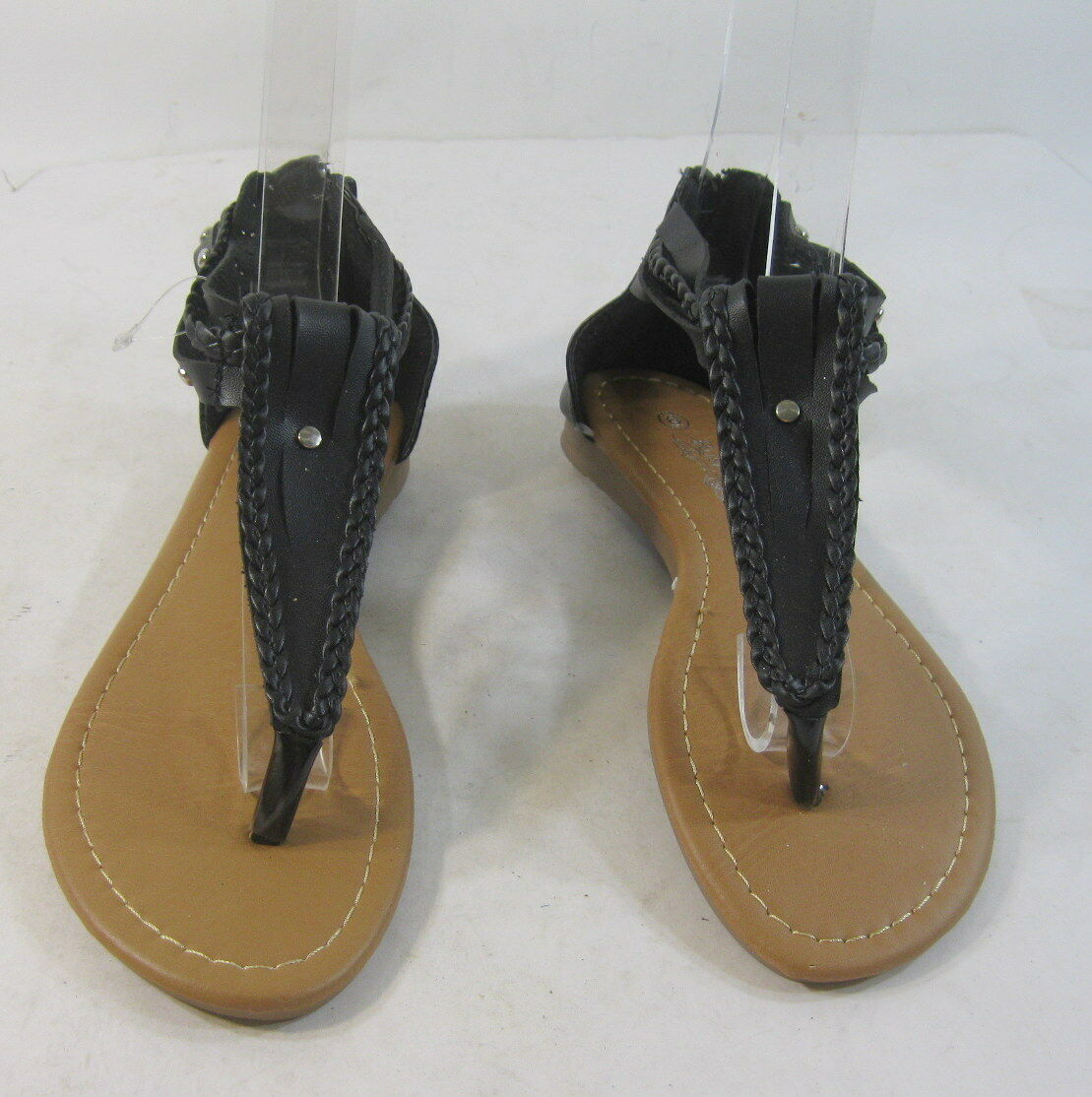 Summer Womens Sandal Black/Silver Stud 6 Sexy Shoes Size 6 Stud 8f6fe6