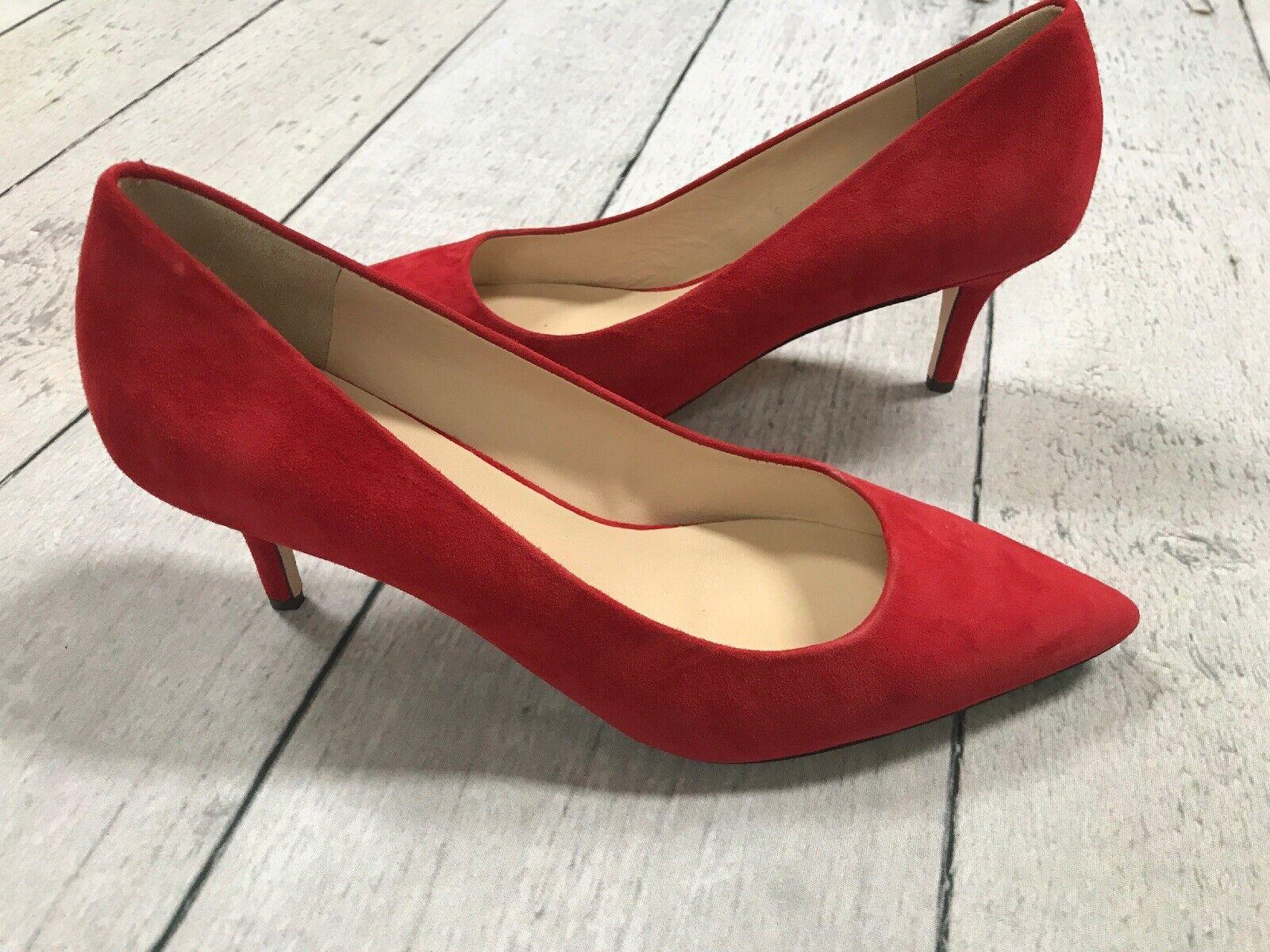 Cole Haan  8.5 Suede rosso Heels Eliza Grand .OS Pump 85mm Cabernet Suede  270  Felice shopping