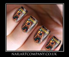 Goonies Movie Poster 80s Nail Art Decals Transfers Stickers Wraps Manicure X 32