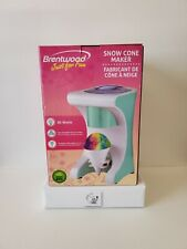 Brentwood Appliances Ts 1420blsnow Cone Maker And Shaved Ice Machine 60 Watts
