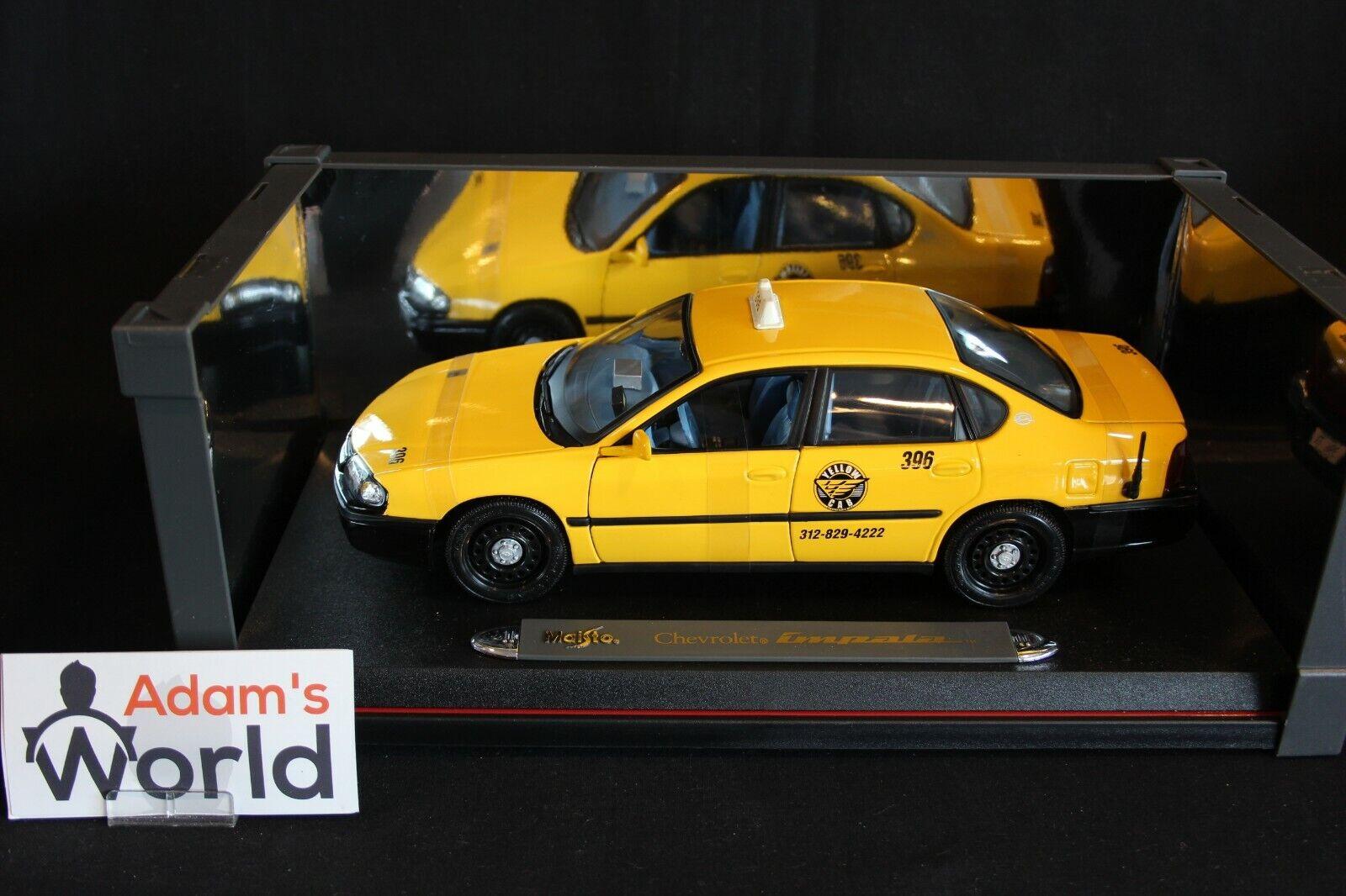 Maisto Chevrolet Impala 1 18 Taxi, yellow (JMR)