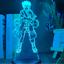 thumbnail 7 - Anime 3d Lamp Naruto Sasuke Kakashi Hinata Obito Itachi Acrylic LED Light Remote