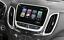 ABS Dashboard GPS Navigation Frame Cover Trim 1pcs for Chevrolet Equinox 2018