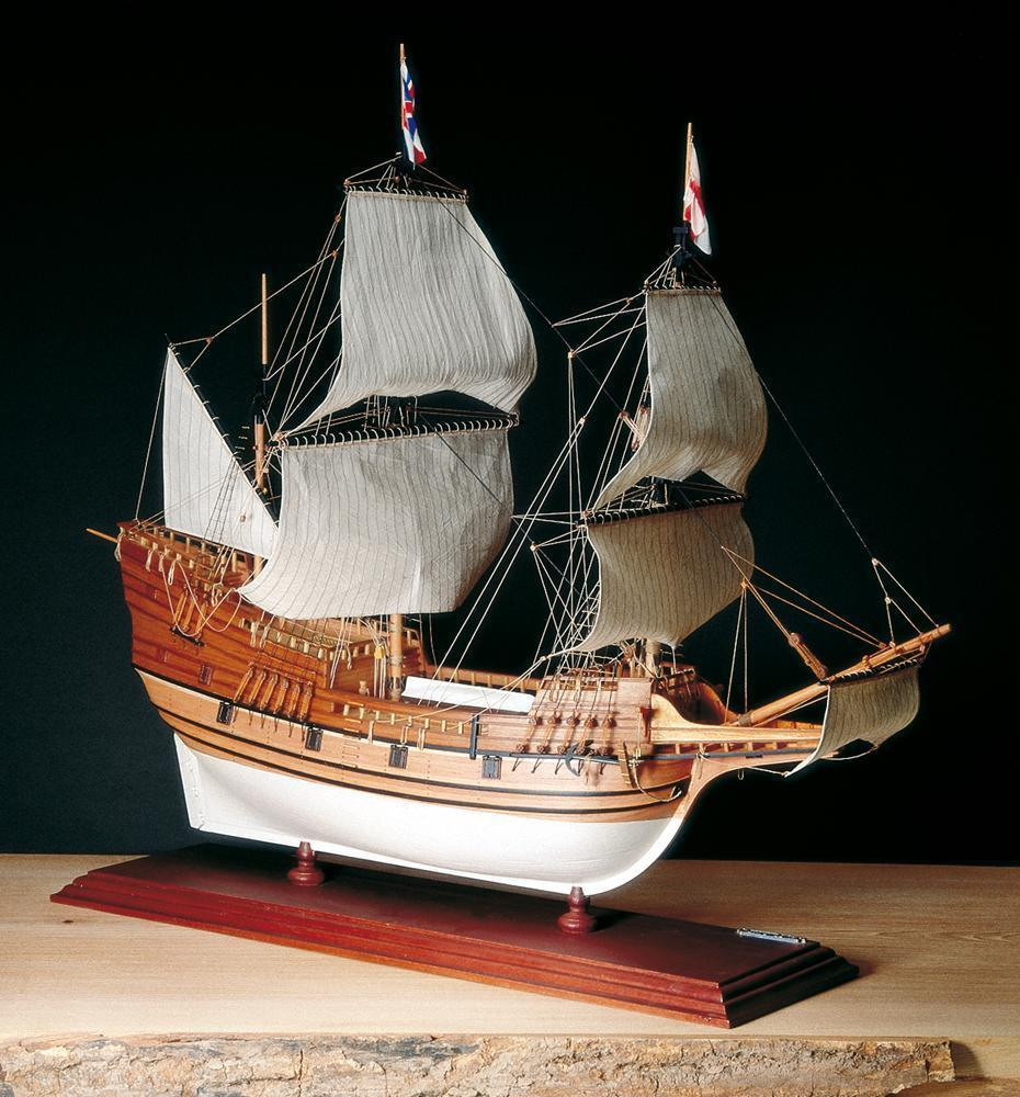 Amati Mayflower, English Galleon 1620 1 60 (A1413) Model Boat Kit