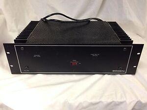 Bogen Hta250a 250 W Amplificateur-afficher Le Titre D'origine Renforcement Des Nerfs Et Des Os