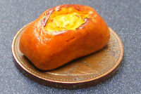 1:12 Small Crusty Hand Made Loaf Of Bread Split Tin Dolls House Miniature Bakery