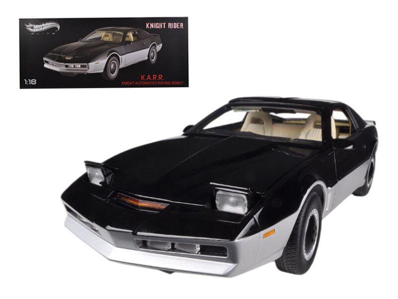 1/18 Hot Wheels Pontiac Trans Am KNIGHT Rider K.A.R.R. Diecast Model Car BCT86
