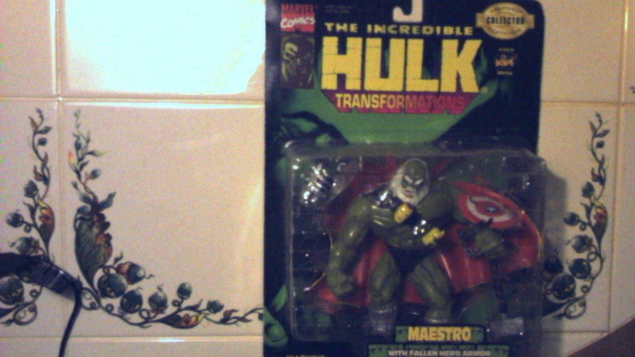 HULK MAESTRO TRANSFORMATIONS ONSLAUGHT MAXIMUM CARNAGE TRIPLE THREAT MOC 1997