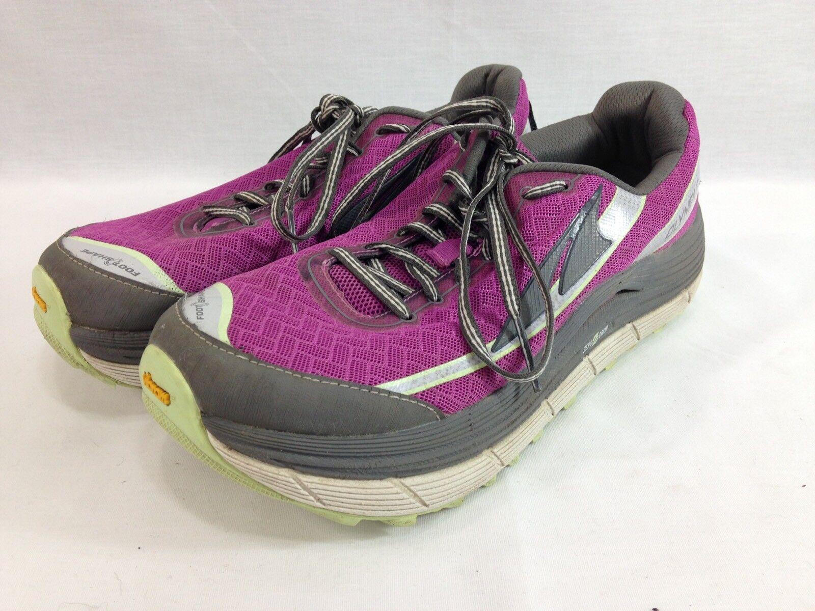 Altra Olympus 2.0 Tenis Zapatos para mujer mujer mujer 8 Púrpura Correr Atléticos cero Gota  moda clasica
