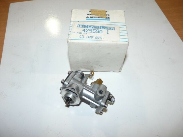 Mercury Mariner OUTBOARD 70 HP Oil Pump Assembly W/ Tubing PN 42959a 1