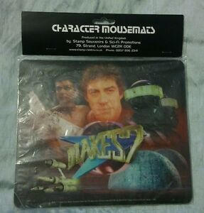Blake's 7 Character Mousepad BNIP Factory Sealed