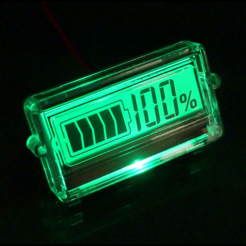 Lead Acid Batterie Lithium Li-ion 18650 Battery Packs capacité Compteur Indicateur Détecteur