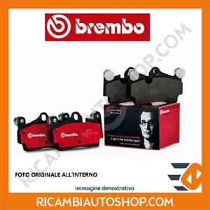 KIT PASTIGLIE FRENO ANTERIORE BREMBO FIAT 500 C 1.2 KW:51 2009/> P23060