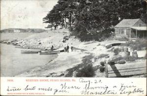 Peaks-Island-ME-Western-Shore-c1905-Postcard