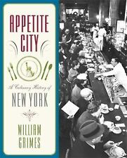 Appetite City: A Culinary History of New York-ExLibrary