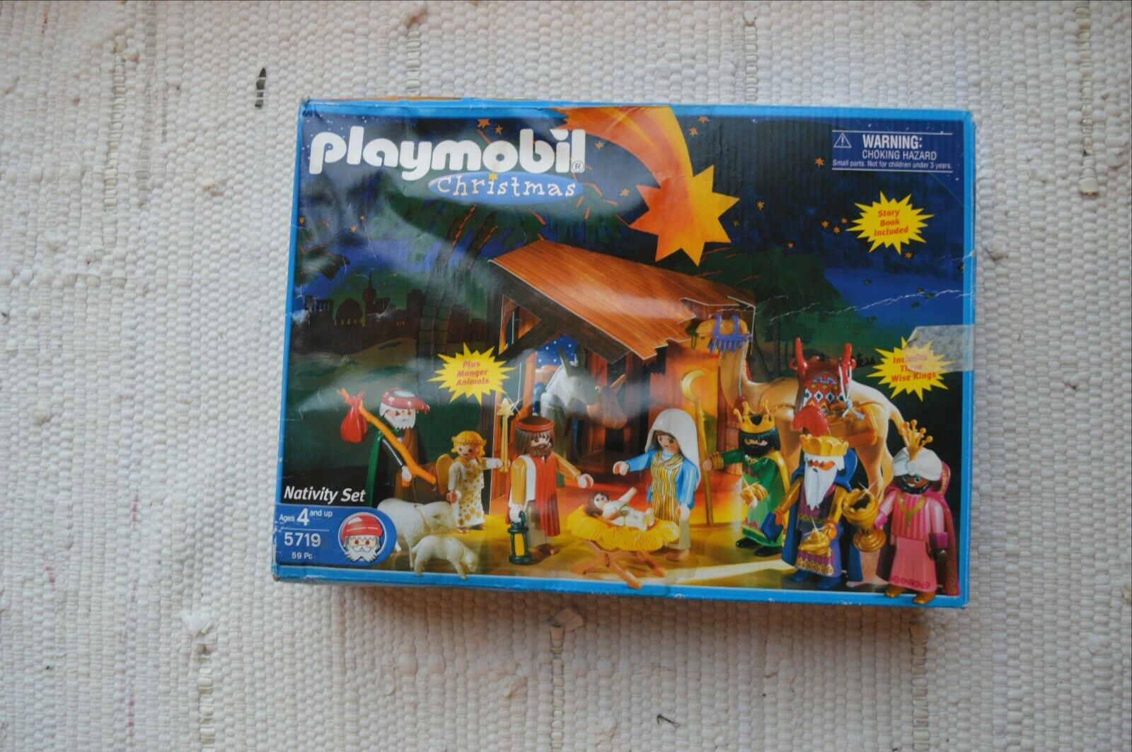 Playmobil 5719 Christmas Nativity Set 59 pc. ages 4+ up Education Complete Set